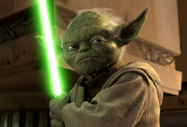 The victim was dressed as a Jedi knight at the time of the attack