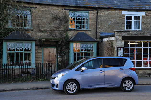 Toyota Verso-S Multidrive S | The Independent