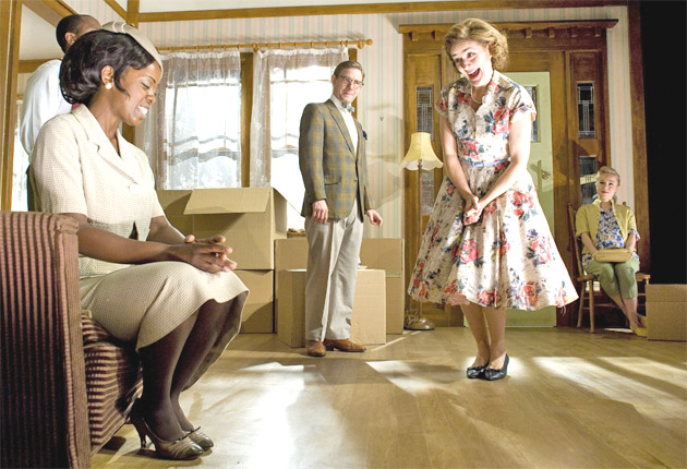 Bruce Norris's Chicago-set 'Clybourne Park', with Lorna Brown