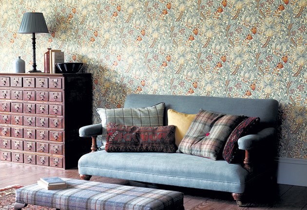 Walls Of Fame Business Is Still Booming For Victorian Designer William Morris Company 150 Years On The Independent