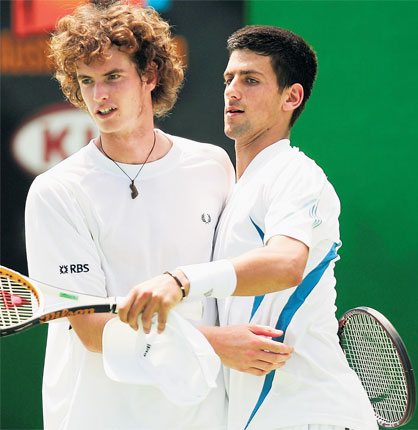 How Djokovic And Murray Became Best Mates Again The Independent