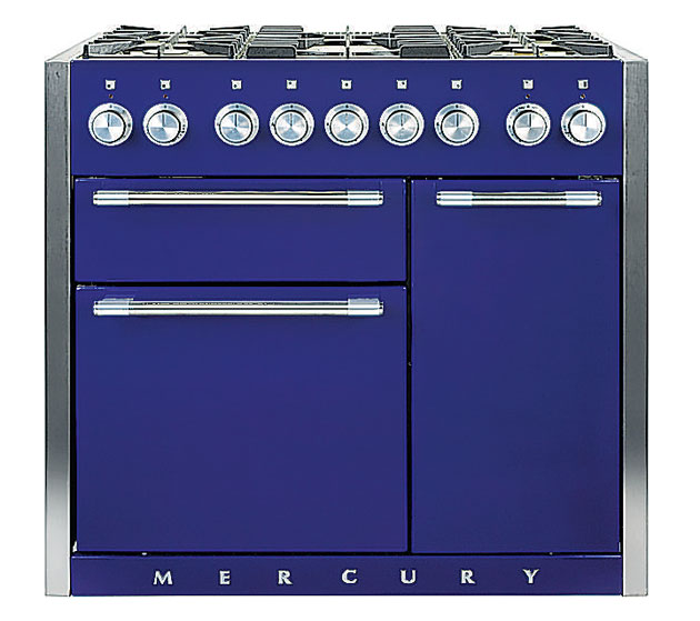 Mercury Range<br/>For my money this is the most beautiful range. I like the fact that there's no glass in the door - it only gets so grubby you can't see through it anyway - and this is pleasingly industrial,which is still a good look. They also do a go