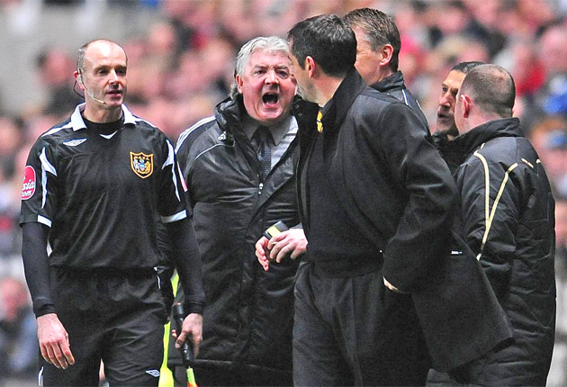 The Newcastle manager during his spell at the club previously