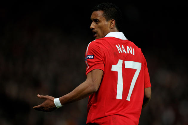 Nani had been linked with a move away from Old Trafford