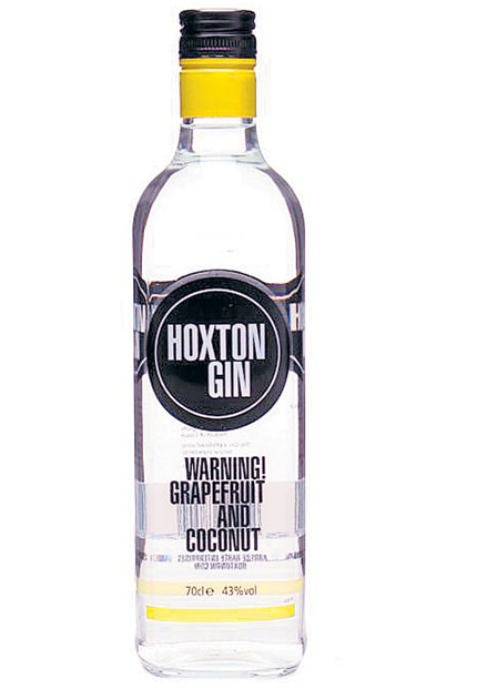 (1). HOXTON<br/> Hoxton Gin is made by trendy east-London brewer Gerry Calabrese who adds distillates of tarragon, iris, grapefruit and, unusually, coconut to give a fruity, tropically-flavoured drink.<br/> £27.95, royalmilewhiskies.com