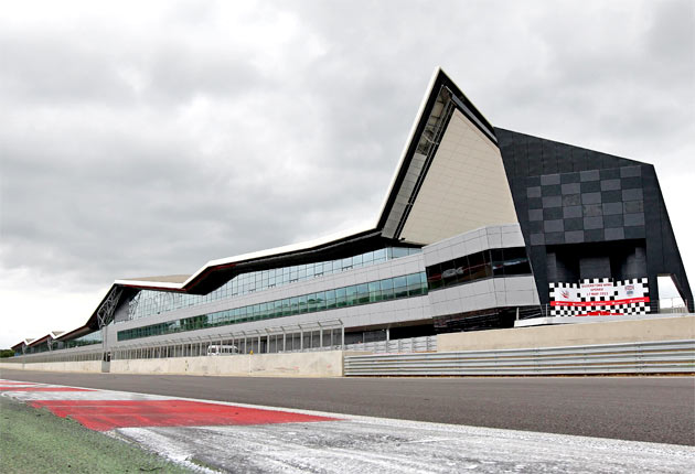 Silverstone recently unveiled new pits and paddock