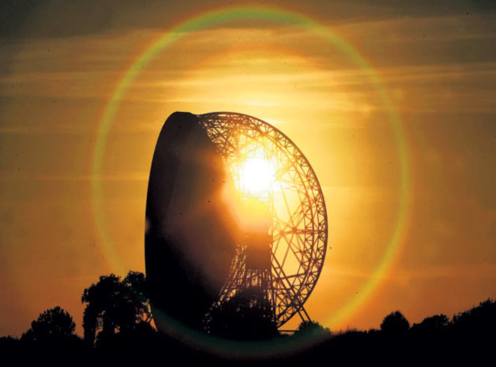 Jodrell Bank Observatory: The giant Lovell Telescope - used for listening to radio signals from space - was completed in 1957