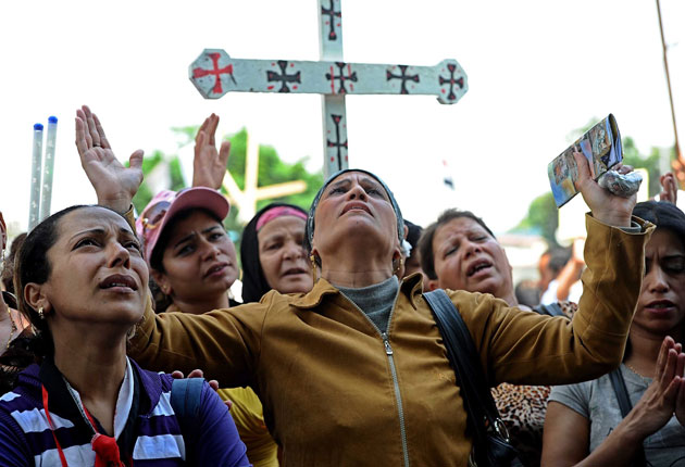 After 44 Christian Copts were killed in two church bombings in Egypt this month, can they stay?