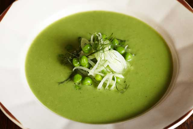 Chilled pea and fennel soup   The Independent