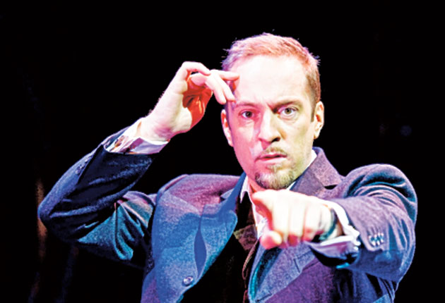 Derren Brown was forced to deny his involvement in the heist of two of Damien Hirst's prized artworks worth £33,000, after putting himself in the frame with a poorly judged tweet.