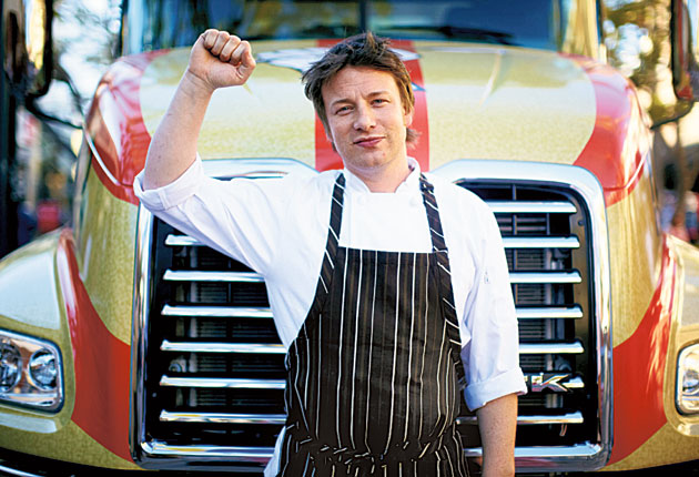 Jamie Oliver has worked with the company for 11 years