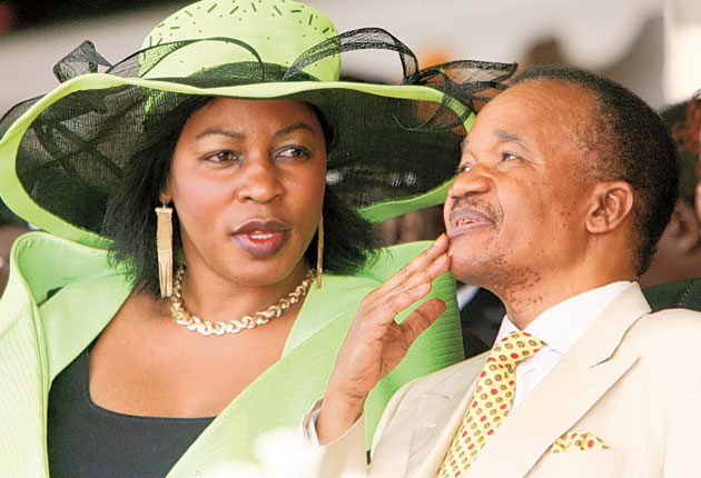 Image result for pictures of frederick chiluba and vera