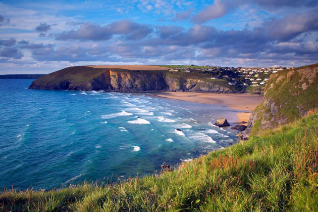 United Kingdom<br/>Mawgan Porth, Cornwall<br/>Cornwall is brimming with beautiful beaches, but Mawgan Porth is a highlight. For a 'grown-up' break, Emma Gibbs recommends luxurious eco-lodge the Scarlet (from £245 per night) as 'one of the country's ch