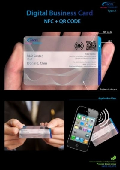 Business cards go digital and nfc enabled the independent business cards go digital and nfc enabled colourmoves
