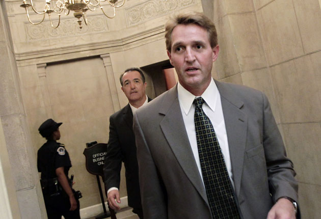 Flake's new book is called 'Conscience of a Conservative'