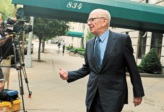 Rupert Murdoch has vowed to co-operate fully with investigators