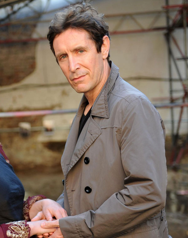 McGann says: 'I resent almost all of the time I spend in front of the television, but I find 'The Only Way Is Essex' absolutely riveting'
