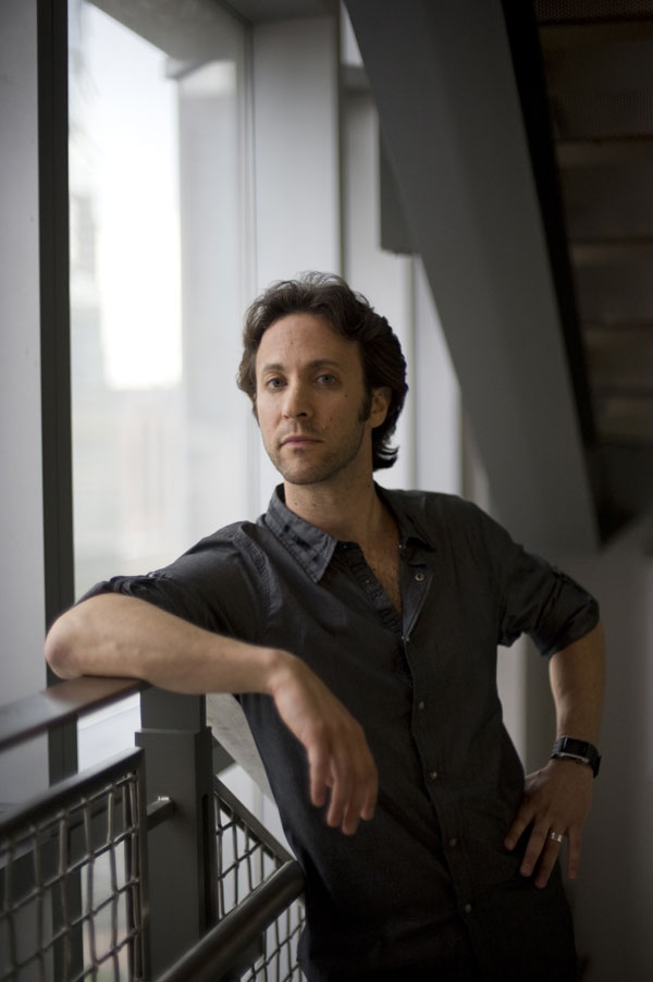 Prof David Eagleman at the Baylor College of Medicine in Houston, Texas, where he runs the Laboratory for Perception and Action and the Initiative on Neuroscience and Law