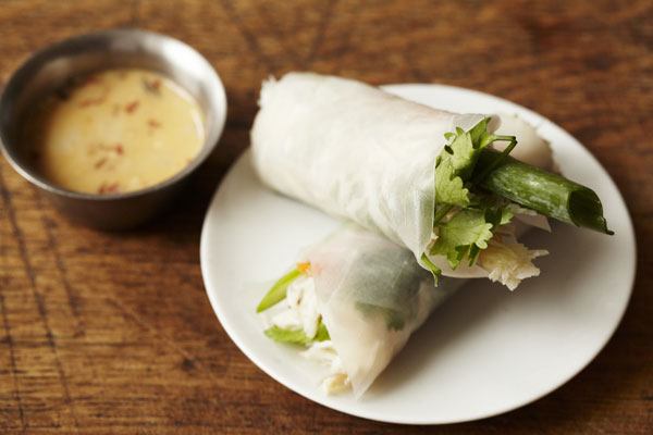 Crab summer rolls are a great light and fresh alternative to the traditional crisp spring rolls
