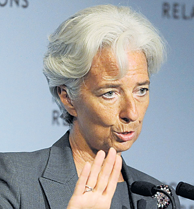 Christine Lagarde rejects claims she acted illegally in the Bernard Tapie deal