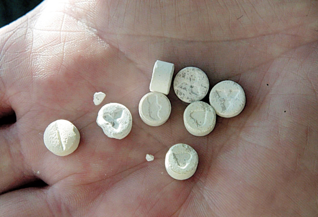 540,000 people admit to using ecstasy at least once a year