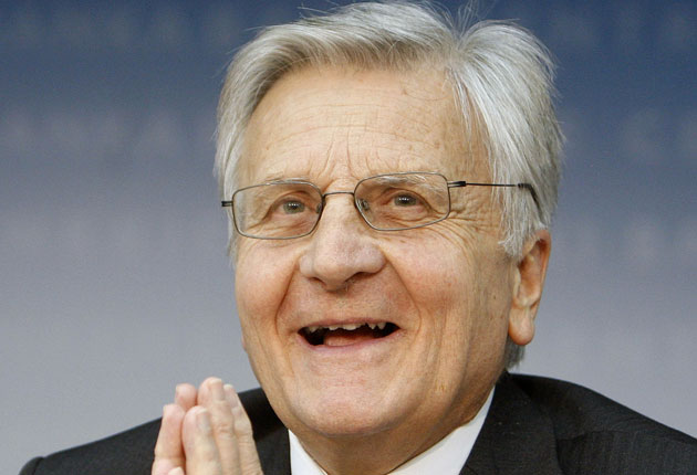 He says: 'The euro is not in question: it is solid, strong and credible. The euro has kept its value for over 12 years.'