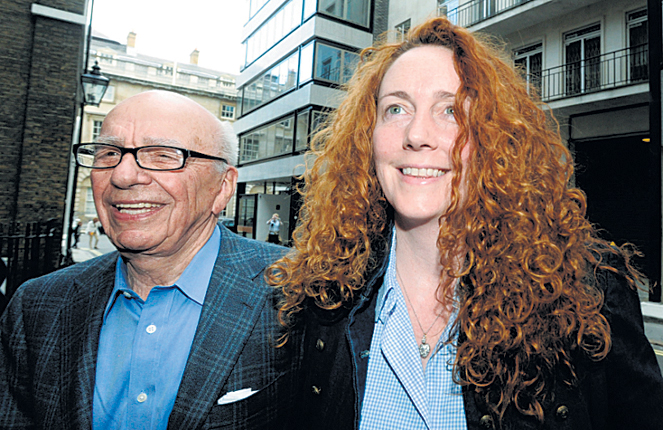 Rebekah Brooks is allegedly receiving support for legal and PR bills from NI