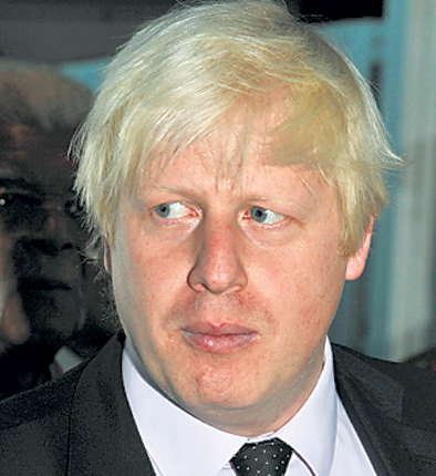 London mayor Boris Johnson faced a barrage of criticism from angry residents today