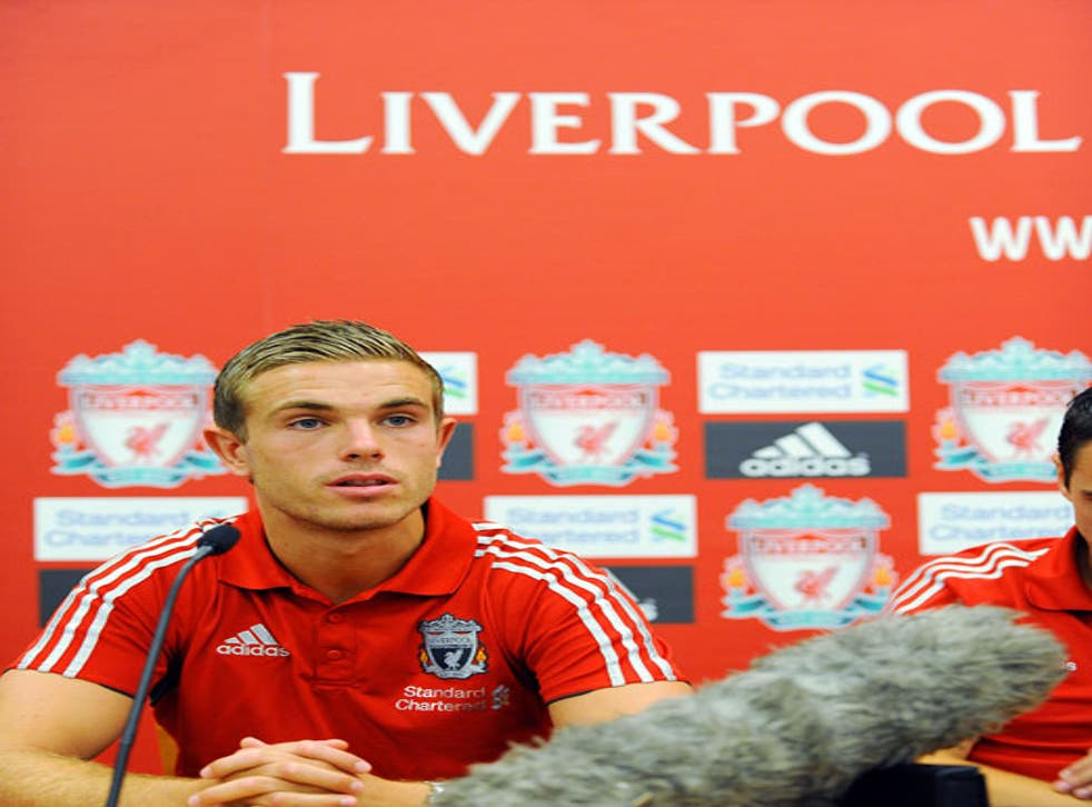 Jordan Henderson joined from Sunderland in a big money move