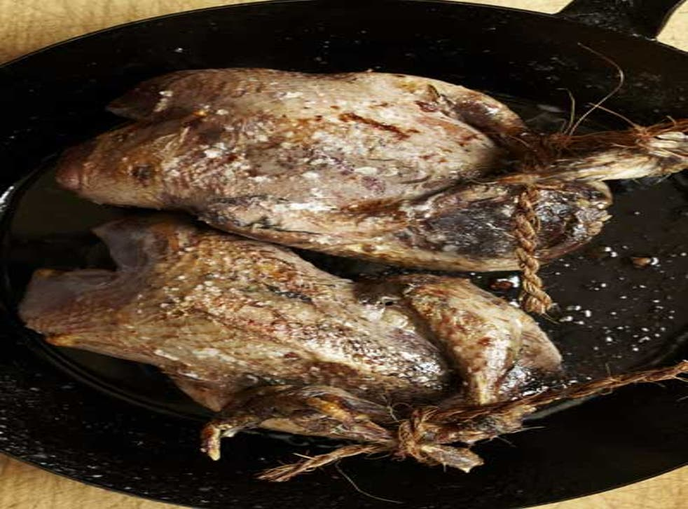 Grouse stuffed with haggis tastes great served with classic accompaniments such as a jelly, game or parsnip chips and some bread sauce and gravy