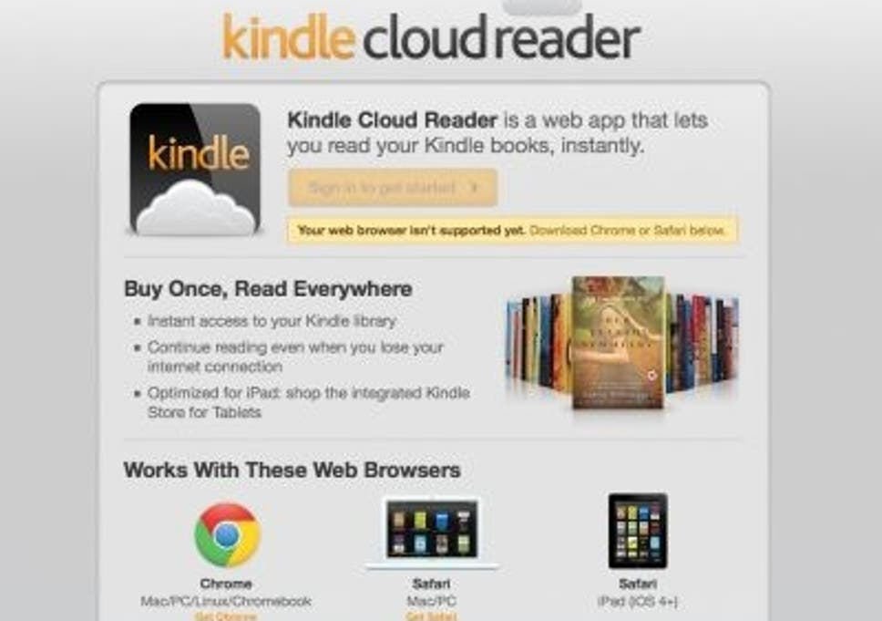 Amazon takes iPad-optimized Kindle reader to the cloud to avoid