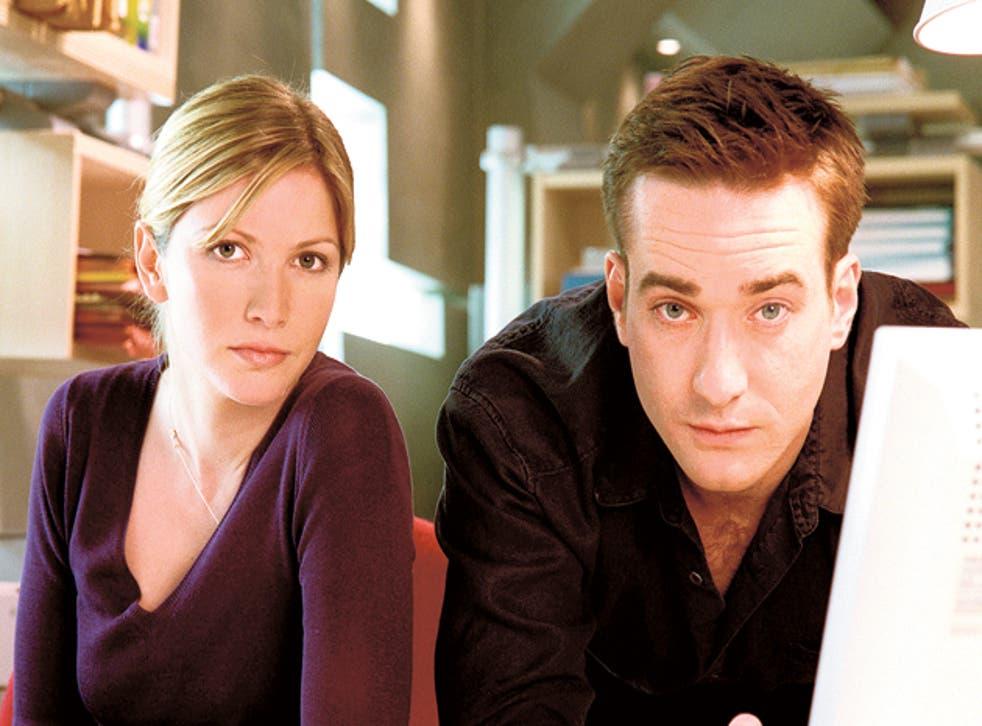 Lisa Faulkner and Matthew MacFadyen as Helen and Tom back in 2002