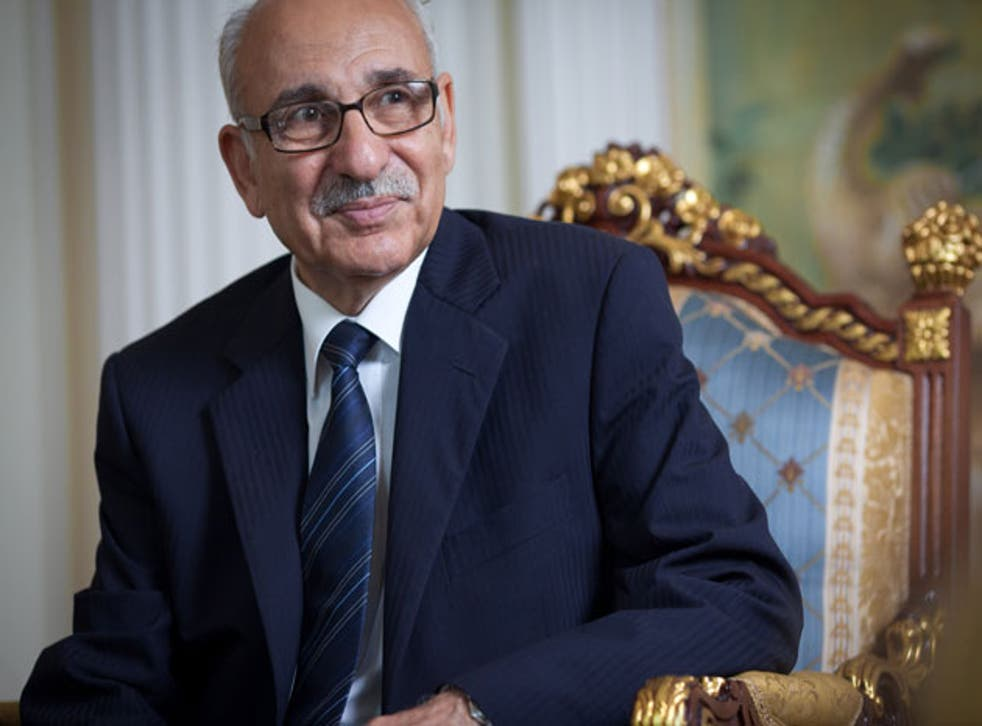 Mahmud Nacua, the newly appointed Libyan ambassador in the UK on Friday