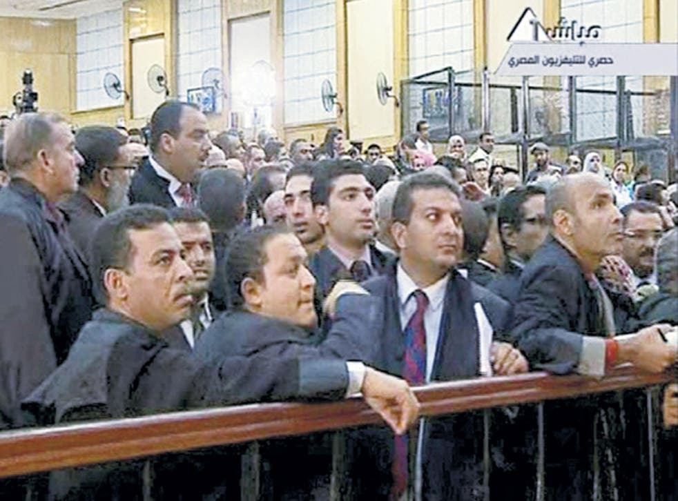 Lawyers jostle for the judge's attention