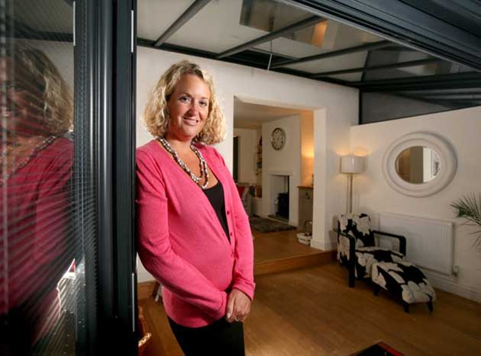 Kerry Grant was forced to downsize to a smaller property with her two children, and although she had enough money to cover the cost of the house she had no funds left with which to renovate it