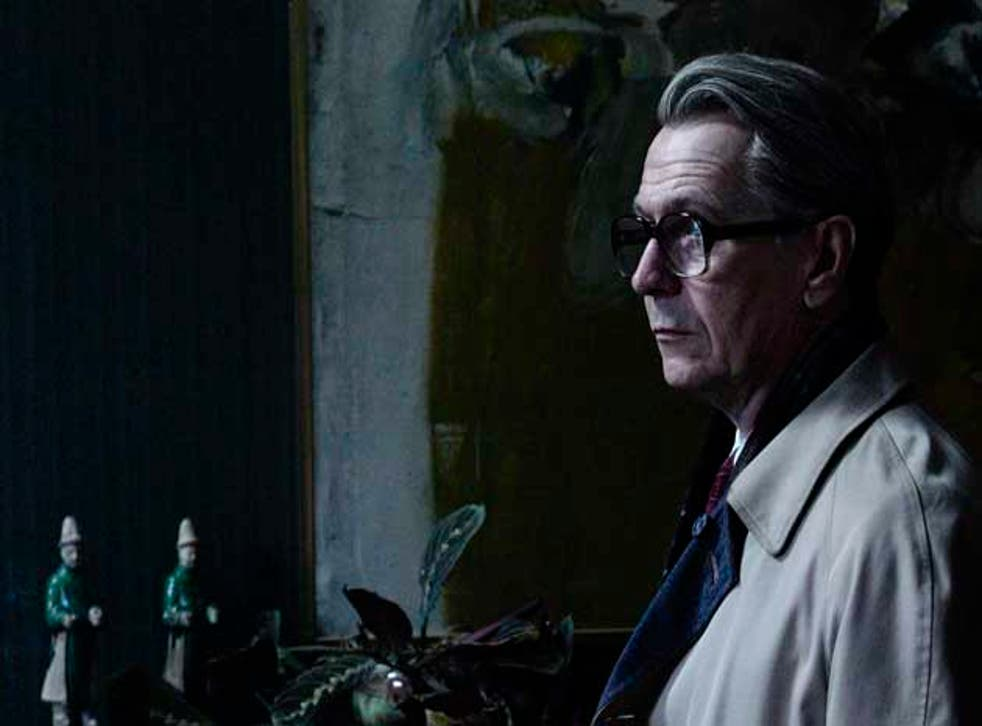 Gary Oldman (pictured) follows Alec Guinness in the George Smiley role
