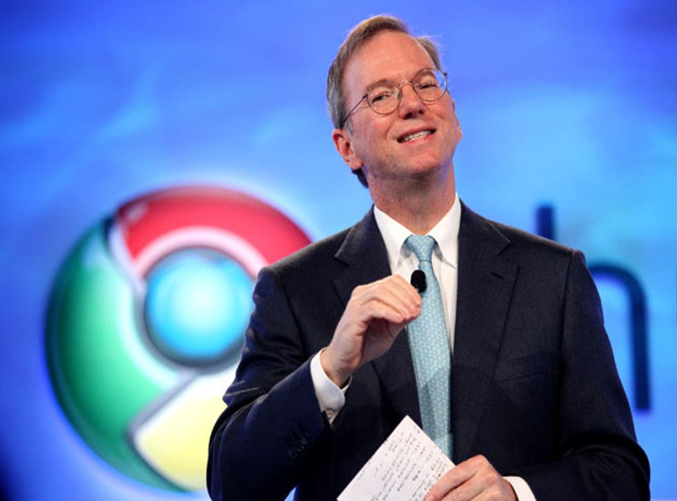 Google executive chairman Eric Schmidt said he was flabbergasted that computer science was not a standard subject in all British schools