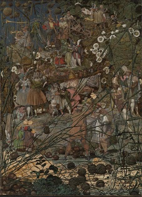 The Modern Asylum >> Richard Dadd Masterpieces Of The Asylum The Independent