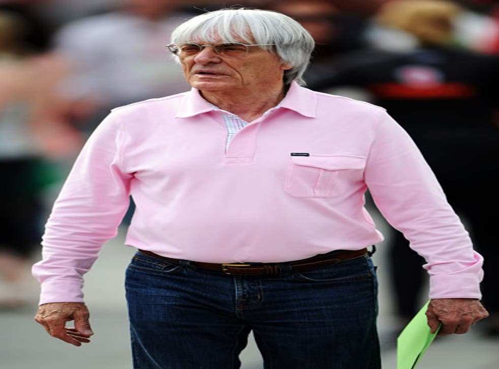 Ecclestone owns the rights to F1