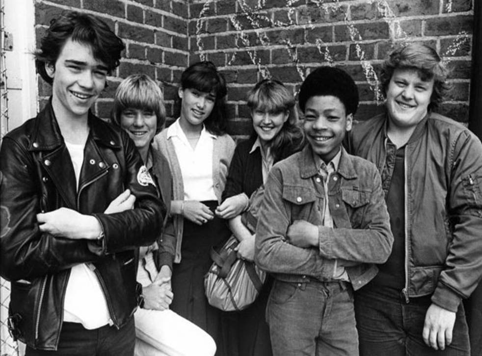 A casual 1980s look at Grange Hill