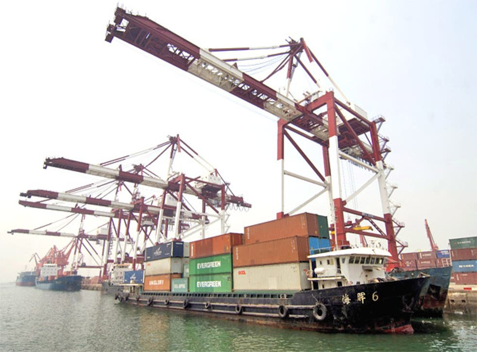China is the biggest exporter in the world