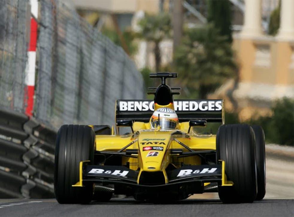 Jordan cars turned yellow when Benson & Hedges began sponsoring them in 1996