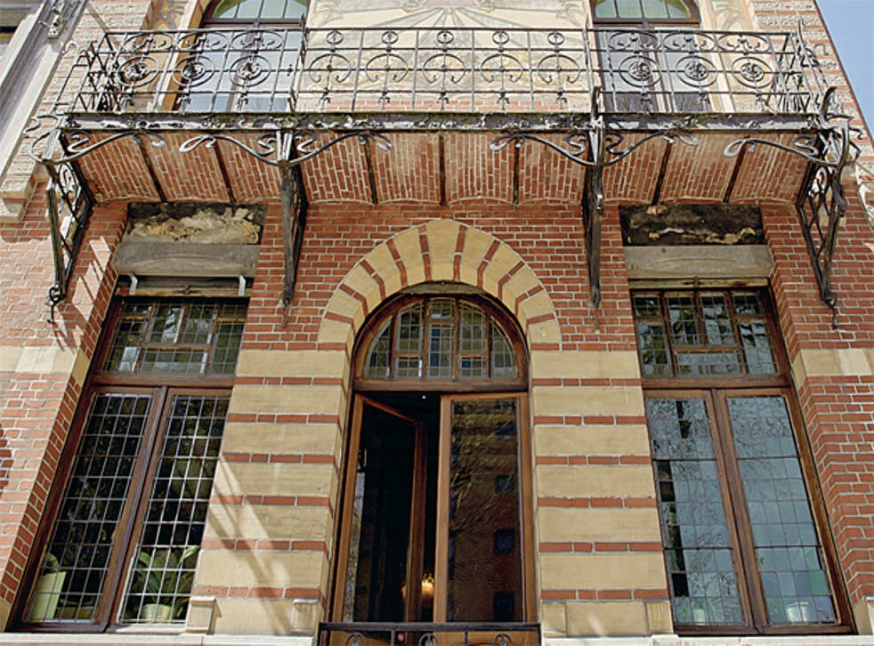 Rich in Nouveau: Charleroi boasts some architecturally intriguing mansions