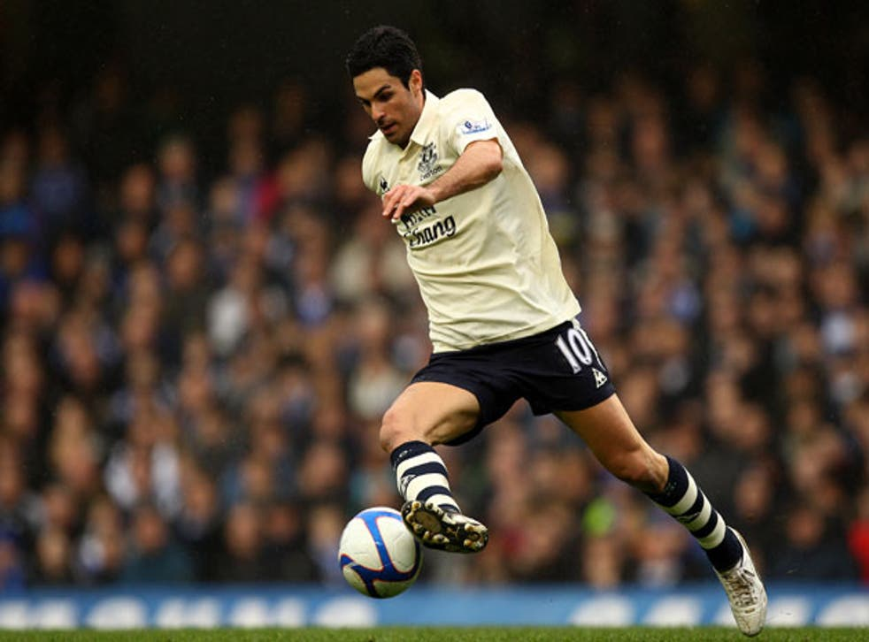 Arteta is likely to continue in his best position wide on the left rather than fill in for Fabregas