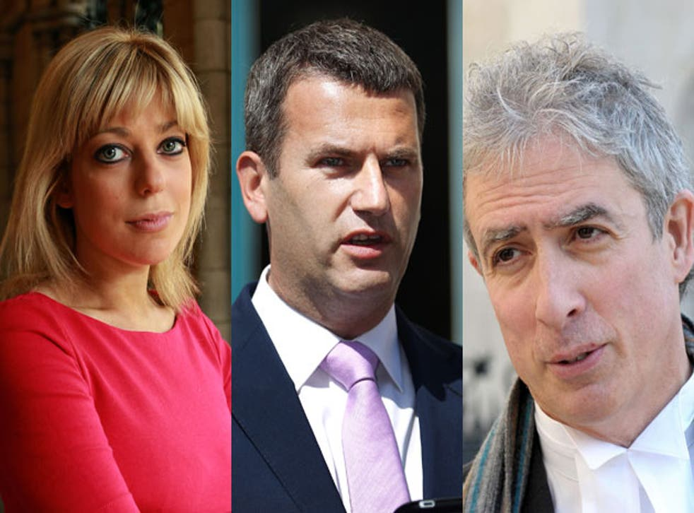 Private detectives made dossiers on lawyers Charlotte Harris, Mark Lewis and Mark Thomson, who were leading claims against News International over phone hacking