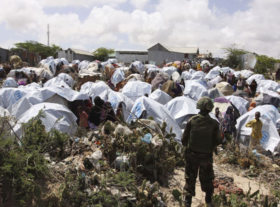 Aid is reaching people in camps but is still not getting to the many in need elsewhere