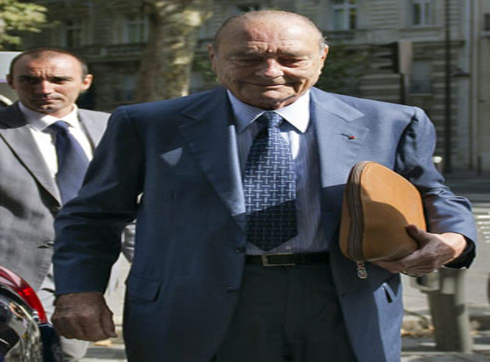 Former President Jacques Chirac, 78, is suffering from a form of Alzheimer's