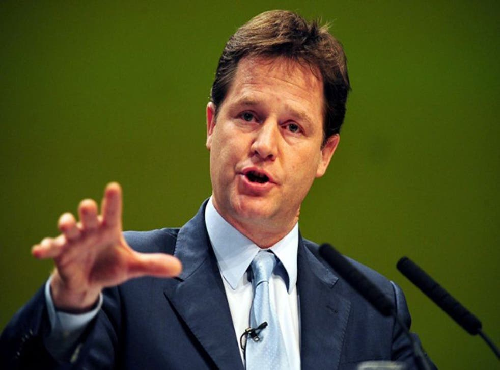 Nick Clegg is ruling out the possibility of the Government's new free schools being run for profit
