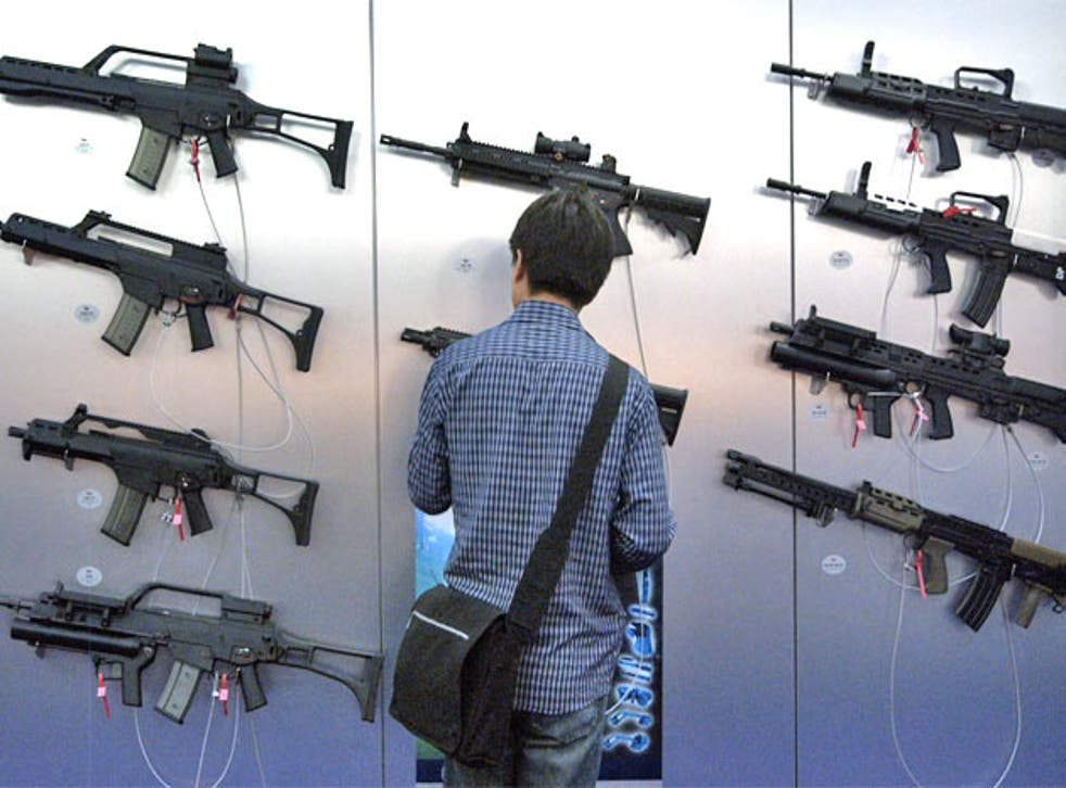 Next week arms manufacturers will gather in London for DSEi, the world's largest arms fair
