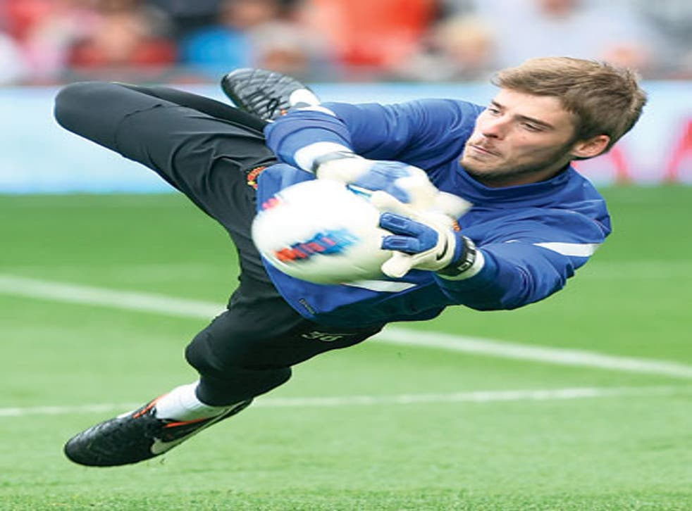 'I am getting better in every training session,' says Manchester United goalkeeper David de Gea